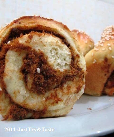 Just Try & Taste: Obsesi Roti 14: Roti Isi Abon