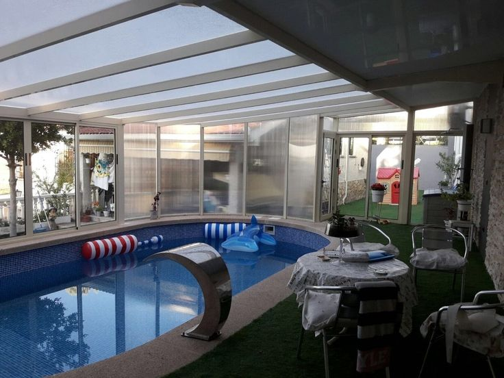 Cubiertas de piscinas madrid