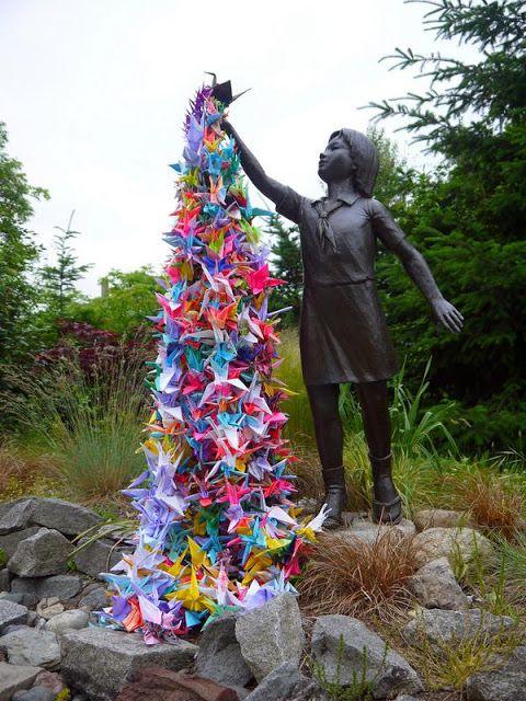 Sadako Sasaki: La leyenda de las mil grullas de papel. - Japón And More