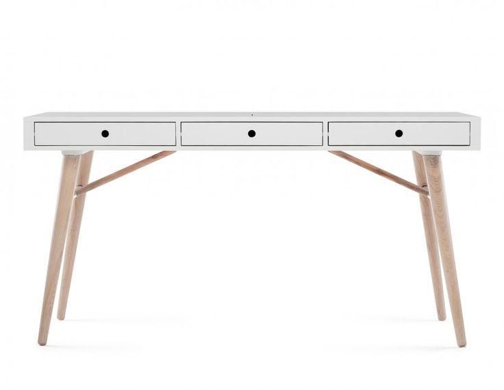EMERSON - Desk 59'' - White