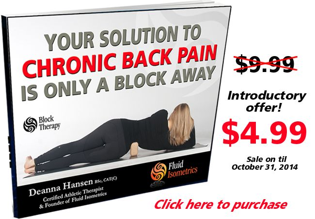Purchase Your Solution to Chronic Back Pain