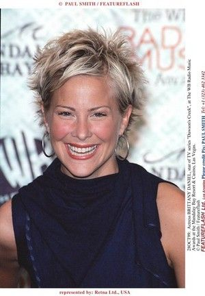 28OCT99: Actress BRITTANY DANIEL, star of TV series 'Dawson's Creek', at