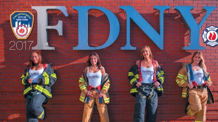 FDNY Calendar 2017: Female firefighters