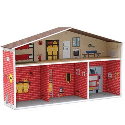 """Fire station """"doll-house"""""""