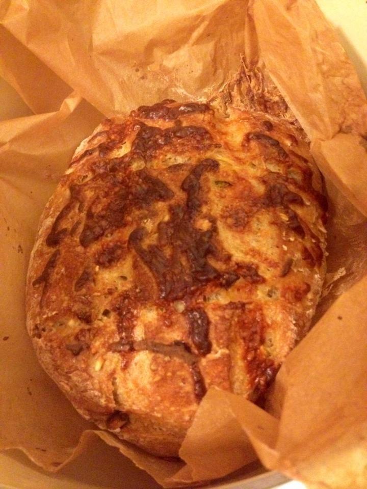 Easy Crusty Jalapeno Cheese Bread Fantastico