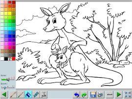 coloriages en ligne les animaux daustralie