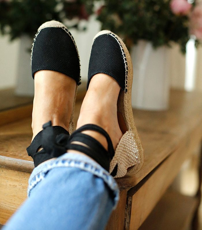 Sezane Low Milano Espadrilles $115   Pack These Items in Your Suitcase and You're Practically French via @WhoWhatWear