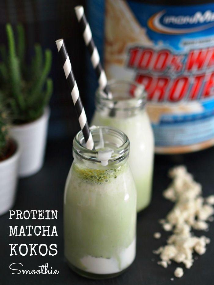 Protein Matcha Kokos