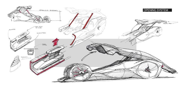 Design team: Mikail Serin, Adrien Van Mullem, Axel Verquin, Camille Delattre, David Paul BMW Z Next 100 Vision