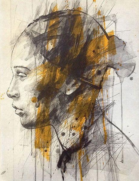 Portait Painting-Lionel Smit Artwork