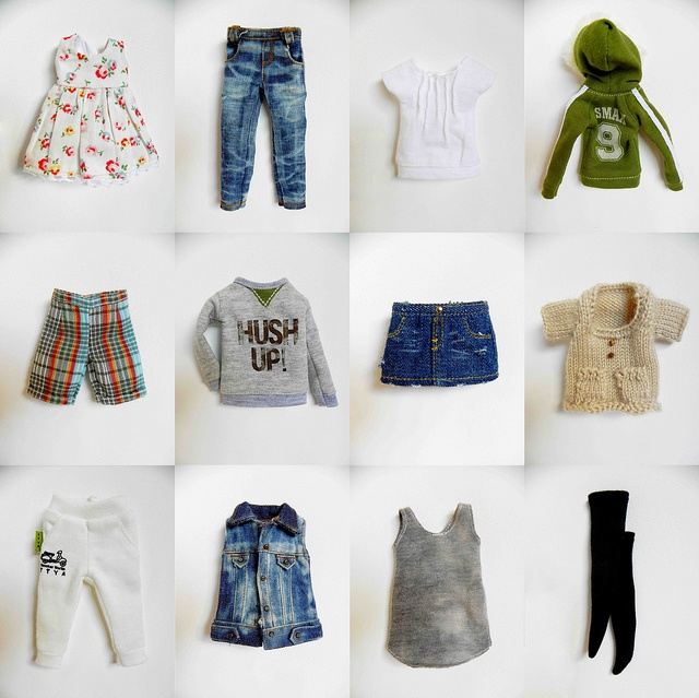 Blythes' clothing