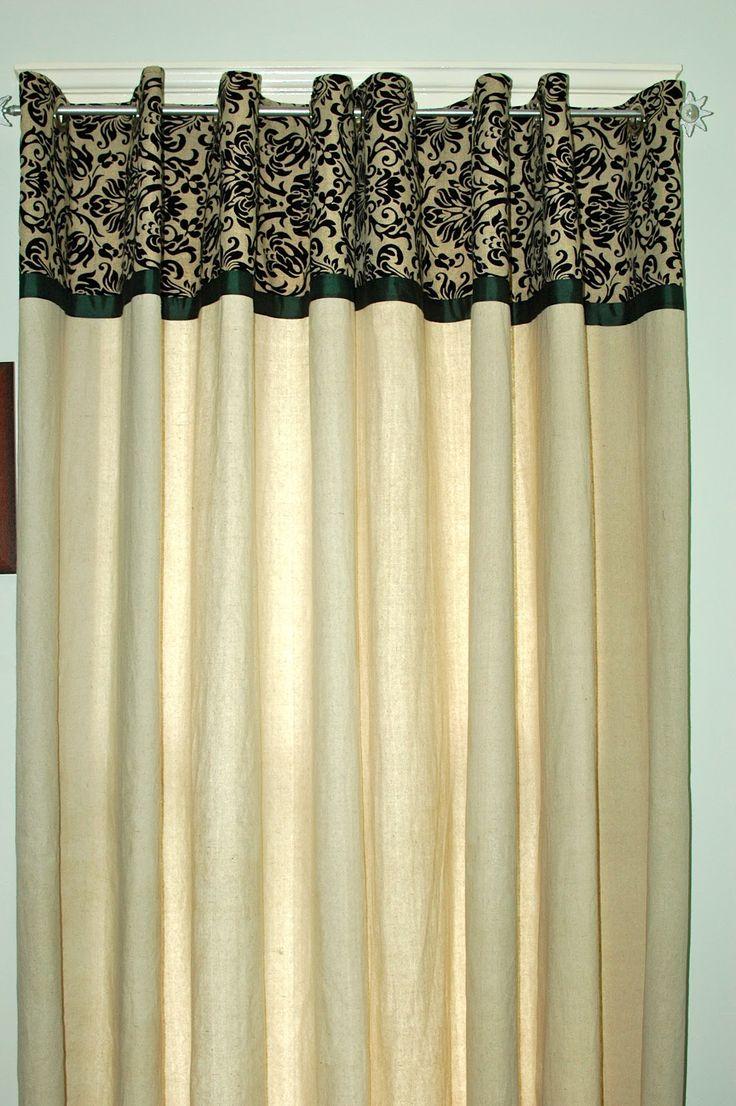 Bamboo curtain rods diy - Turtlecraftygirl Diy Canvas Dropcloth Curtains