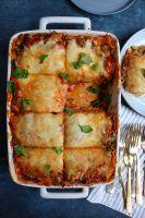 Roasted Zucchini and Eggplant Lasagna