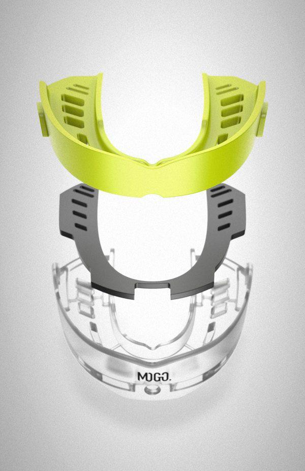 Mogo M3 Mouth Guard by James Lua, via Behance.