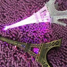 Frete grátis torre Eiffel romântico criativo lâmpada de mesa LED quarto luz da noite de casamento