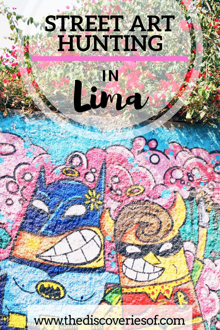 Lima is one of the best places in South America to see awesome street art. Here's our guide to where to find the best street art in Lima