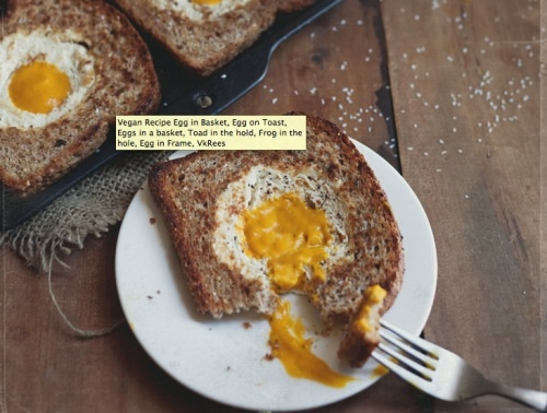 VEGAN toad in the hole breakfast! | vegan breakfast | Pinterest
