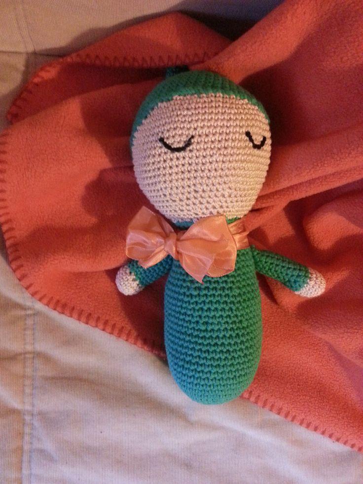 Folletto dei sogni fatto a mano all'uncinetto. Una coccola dolce per accompagnare i bimbi al momento della nanna https://www.etsy.com/shop/CoccoleCreative