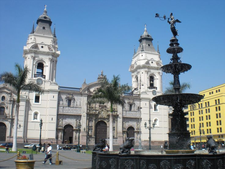 Lima Downtown  Plaza de Armas de lima  Catedral de Lima