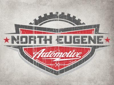 North Eugene Automotive Logo- so cool