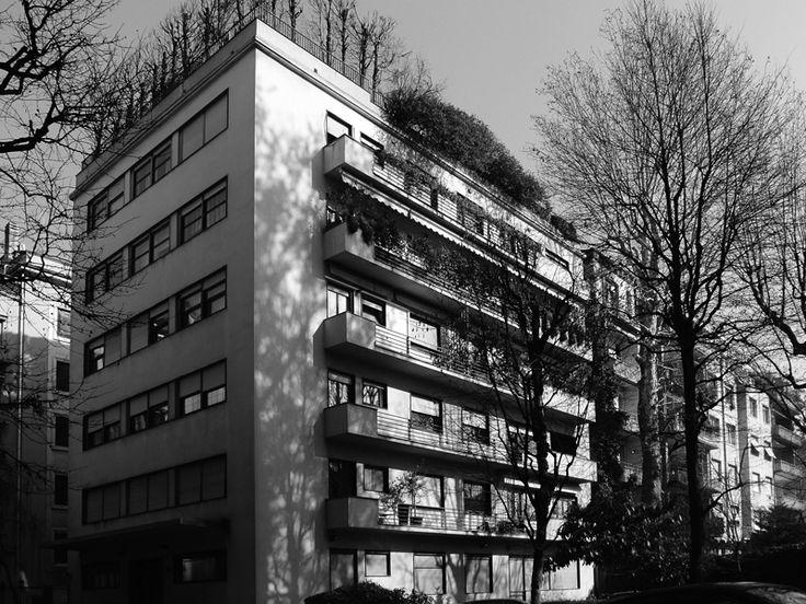 Casa a ville sovrapposte 1933 - 1934 /Luigi Figini, Gino Pollini