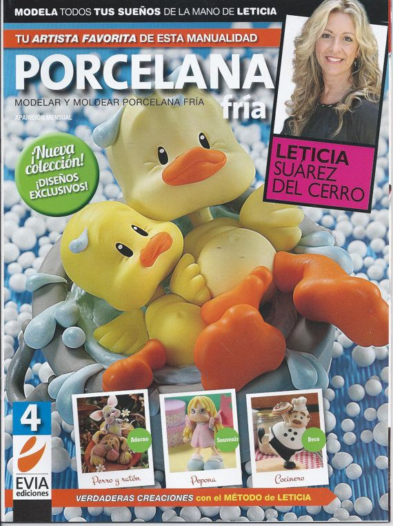 Cold Porcelain Magazine 4 2013 by Leticia Suarez del by AmGiftShoP, $12.99