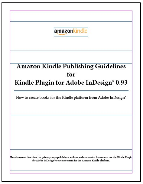 82 best book publishing tips and tricks images on pinterest amazons kindle publishing guidelines for indesign fandeluxe Choice Image