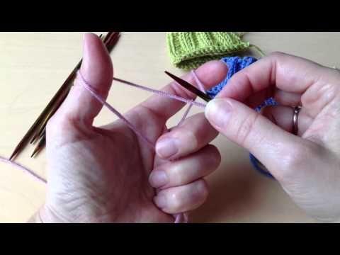 (310) Extra elastischer Maschenanschlag - Norwegischer Maschenanschlag - YouTube | Handarbeiten | Pinterest