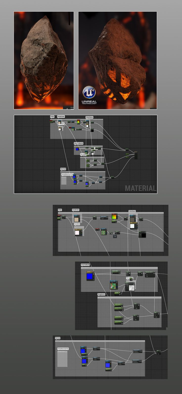 An example of the blueprint feature in Unreal Engine 4