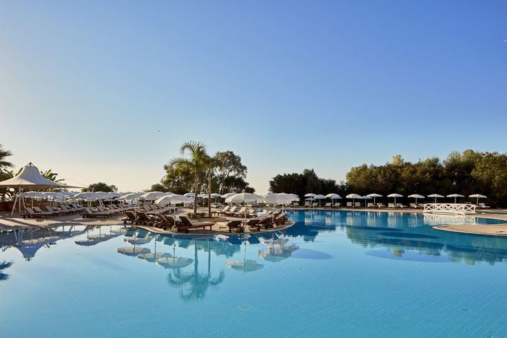 Relax by the pool of Grecian Park Hotel, Cyprus!