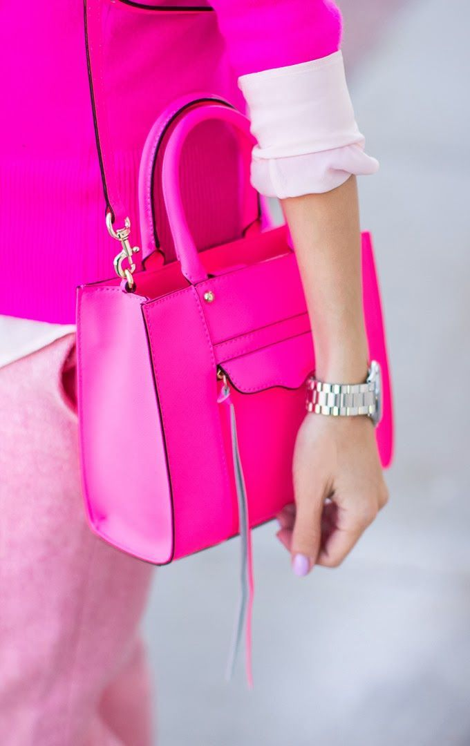 4c26a0561 Perfect pop of pink | Fashionista | Pink fashion, Fashion, Bags