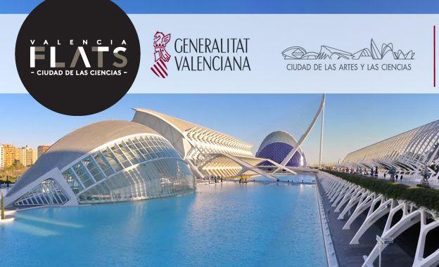La oferta para los apartahoteles de ValenciaFlats Ciudad de las Ciencias incluye una entrada combinada (Museo de las Ciencias Príncipe Felipe + Hemisfèric + Oceanográfico)
