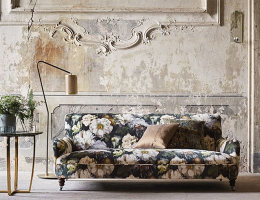Fine art re-defined, the Herbaria Collection offers a dramatic collection of decadent velvets that intertwine layers of past and present artistry. Historic inspirations are the foundation of the collection, deconstructing and rebuilding elaborate designs through intricate layering and innovative colouring.