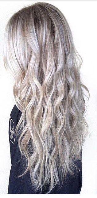 Silver blonde More More: