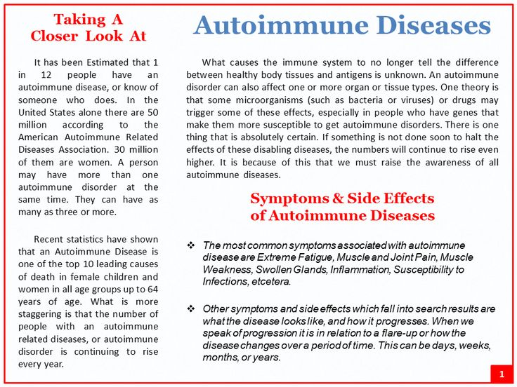 autoimmune disorders essay Cumulative childhood stress and autoimmune diseases in adults shanta r dube , phd, mph national center for chronic disease prevention and health promotion, centers for disease control and prevention, division of adult and community health, atlanta, georgia.