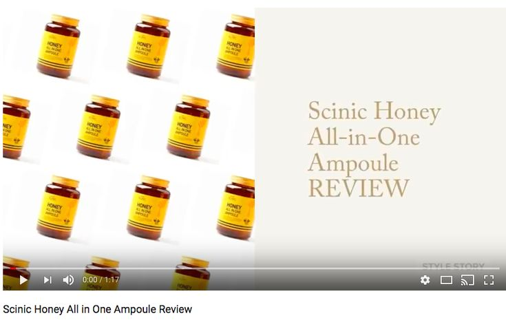 SCINIC HONEY ALL IN ONE AMPOULE REVIEW - Today on our YouTube channel we're taking a look at this hit K-Beauty product - what it does, what's in it and more