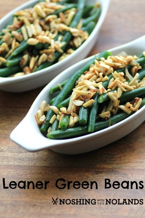 Leaner Green Beans #SundaySupper by Noshing With The Nolands
