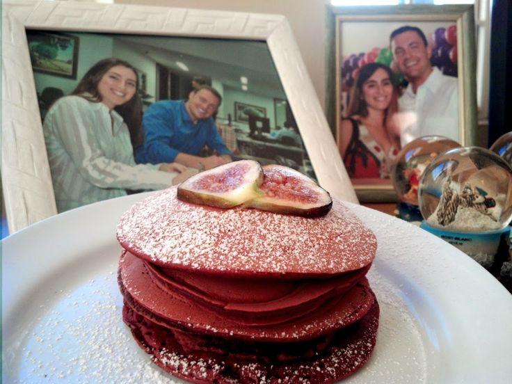 Le Garb: Bistronomia: Panquecas Red velvet - veludo vermelho