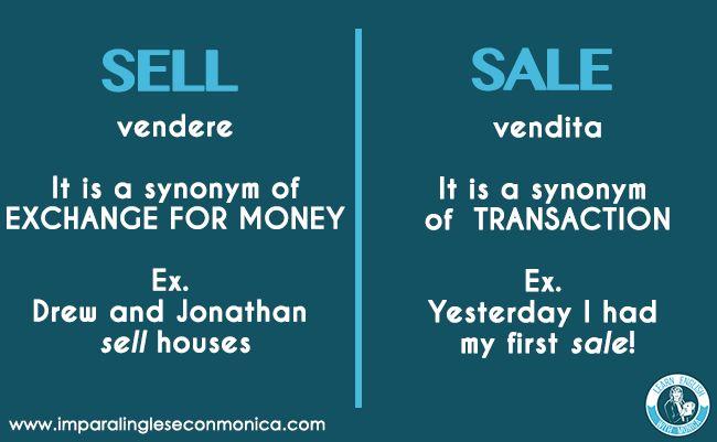 Confusing words of the day: SELL or SALE?  👉 VUOI IMPARARE L'INGLESE 🇬🇧GRATIS e in 4 SEMPLICI PASSI? CLICCA QUI: https://www.imparalingleseconmonica.com/opt-in/  #Englishsnippets #confusingwords #imparalingleseconmonica #learnenglishwithmonica #studyenglish #videolezioni #corsoprivatodiinglese #metododelle3S #3Smethod  @learnenglishwithmonica Impara l'inglese con Monica