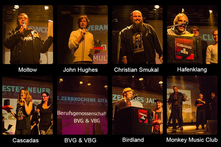 Club Award Hamburg Gewinner 2016