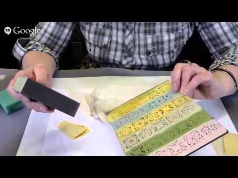 Выступление Анны Турчиной на Международном Университете по Декупажу - 07.04.2015 -способы выделения рельефа