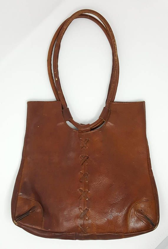 Vintage Brazilian Leather Purse Brown Bag Bags In 2018 Pinterest Purses And