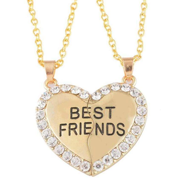Himerus BFF Best Friend 2 Pieces Heart Split Puzzle ...
