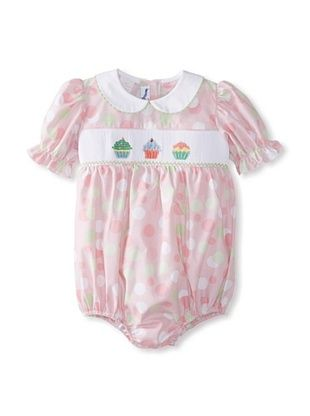 57% OFF Vive La Fete Kid's Cupcakes Bubble Romper (Rose)