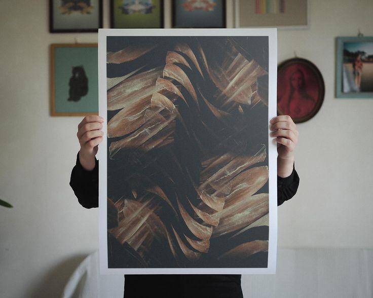 Altered Flora VI, 42 X 59,4 cm (A2), Limited to 30 editions. Find it here: http://shop.palegrain.com/product/altered-flora-vi-large #limitededition #print #artwork #poster #wallpiece #interior #interiör #göteborg #sweden