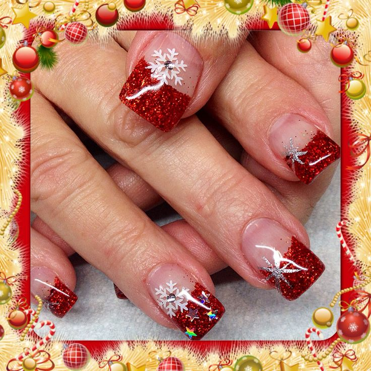Best Christmas Gel Nails: 31 Best Nails By Corina Images On Pinterest