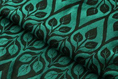 Yaro la vita emerald/black cotton