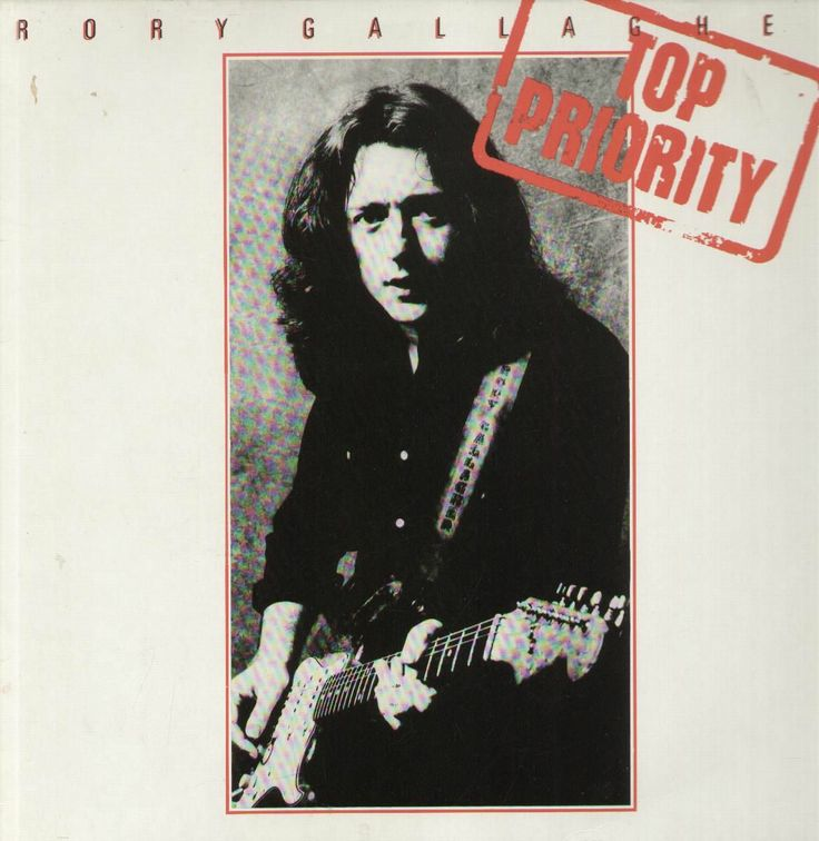 rory gallagher top priority Rory gallagher, Discos de