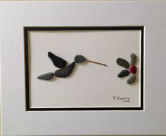 Hummingbird Pebble Art                                                                                                                                                      More