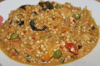 Trigo sarraceno con verduritas, curry y leche de coco | Mis Recetas Anticáncer